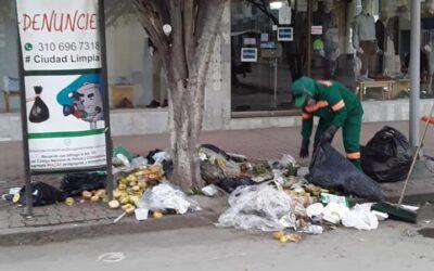 Falta de compromiso con la limpieza de la ciudad